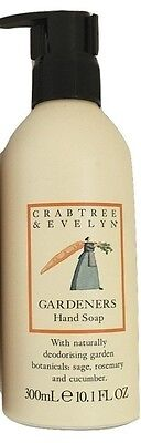 Crabtree & Evelyn Gardeners Hand Soap (300ml) - NEW