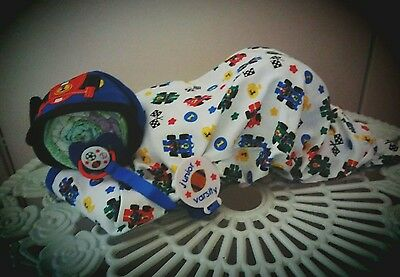 Boy Diaper Baby Zoom Zoom Baby Great Baby Shower Gift Idea Soft & Cuddly