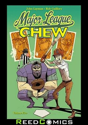 CHEW VOLUME 5 MAJOR LEAGUE GRAPHIC NOVEL New Paperback Collects Issues #21-25