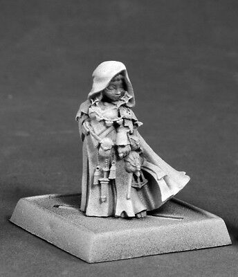 ENORA ICONIC ARCANIST - PATHFINDER REAPER halfling miniature jdr d&d gnome 60178