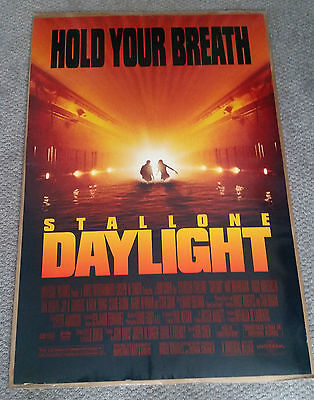 Daylight (1996) Original One Sheet Movie Poster 27x40 DS Sylvester Stallone