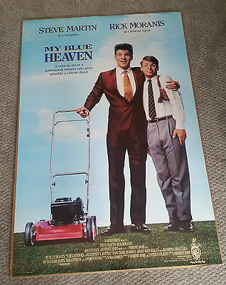 My Blue Heaven (1990) Original One Sheet Movie Poster 27x40 DS Steve Martin