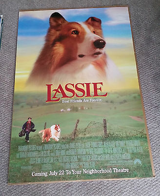 Lassie (1997) Original One Sheet Movie Poster 27x40