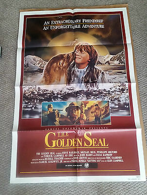 The Golden Seal (1983) Original One Sheet Movie Poster 27x40