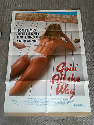 Goin All The Way (1982) Original One Sheet Movie Poster 27x40