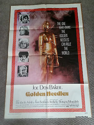Golden Needles (1974) Original One Sheet Movie Poster 27x40