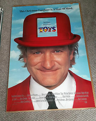 Toys (1992) Original One Sheet Movie Poster 27x40 Robin Williams
