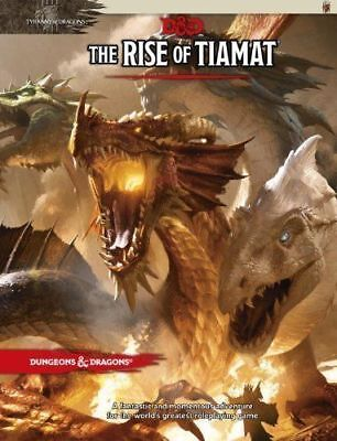RPG - D&D Dungeons and Dragons Adventure The Rise of Tiamat NEW!