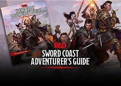 RPG - D&D Dungeons and Dragons Sword Coast Adventure Guide NEW!