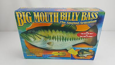 Big Mouth Billy Bass Singing Animated Fish 1998