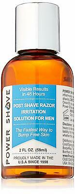 Mens Post Shave Ingrown Hair Removal Shaving Rash Treatment Face Bump Stop Bumps