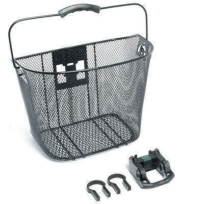 NEW - Bike Corp Front Wire Basket With Quick Release