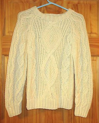 GYMBOREE HOLIDAY MEMORIES IVORY CABLE FISHERMAN/'S L//S SWEATER 3 4 5 6 7 8 NWT