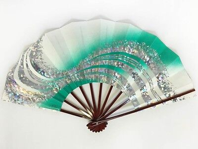 Vintage Japanese Geisha Odori 'Maiogi' Folding Dance Fan from Kyoto: SeptO