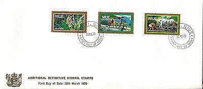 Niue 1979 March 30th Definitive Airmail FDC