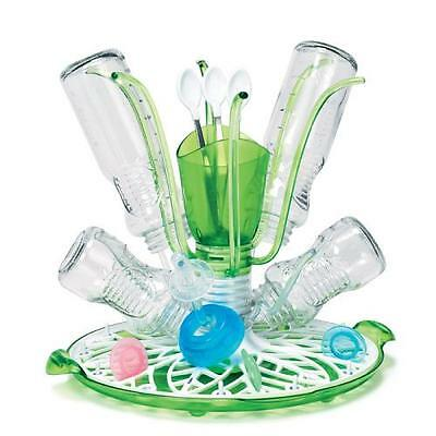 Munchkin Baby Bottle Drying Rack Cleaning Sprout Accessory Organiser