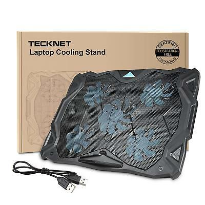 TeckNet Laptop and Notebook Cooling Pad With 6 Fans and Blue LED Laptop Cooler