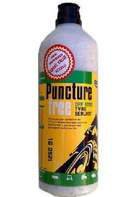TYRE SEALER SEALANT, PUNCTURE FREE, OFF ROAD, OKO, ANTI STOP PUNCTURES 1250ml
