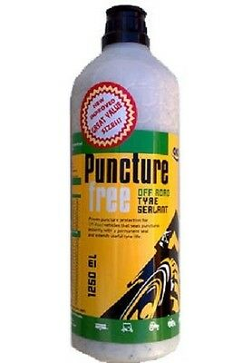 OKO TYRE SEALER SEALANT PUNCTURE FREE OFF ROAD ANTI STOP PUNCTURES 1250ml