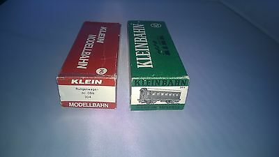 Two Boxes Only For Kleinbahn 304 Rungenwagen Der Obb And Passenger Coach 371
