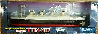 RMS Titanic Battery Powered Toy Boat Atlantis Toy and Hobby