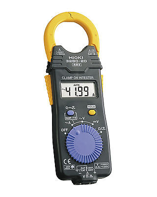 Hioki HiTester 3280-20F TRMS Digital AC Clamp On Meter:1000A, 600V (AC/DC)