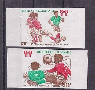 1978 Sc C207/8 world cup,imperf,MNH    e1944