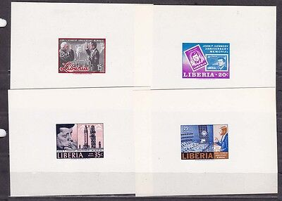 liberia 1966  kennedy four die  proofs ?!MNH       e2007