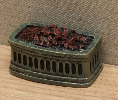 1:12 Dolls House Bowed fire grate
