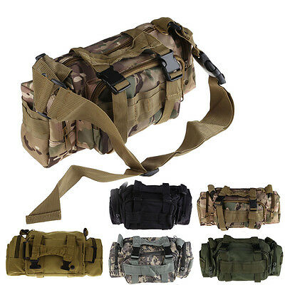 Utility Tactical Waist Pack Pouch Military Camping Hiking Cycling Outdoor Bag