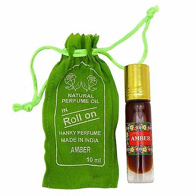 Amber Fragrance Perfume Oil 100% Pure and Natural with Gift Bag - 10 ml