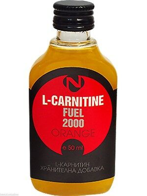 L-Carnitine 2000 Liquid with Vitamin C Sport Drink for Direct Use 50 ml