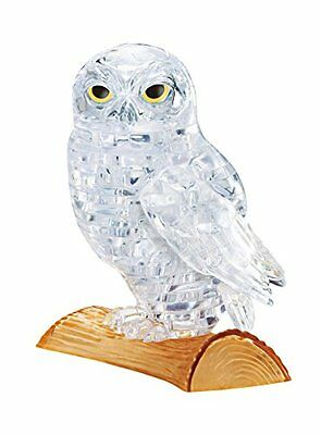 Puzzle_Toy 42 piece Crystal puzzle Owl Clear 3D puzzle FREE SHIPPING