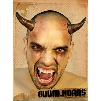 Horns Prosthetic Latex Devil Demon Fancy Dress