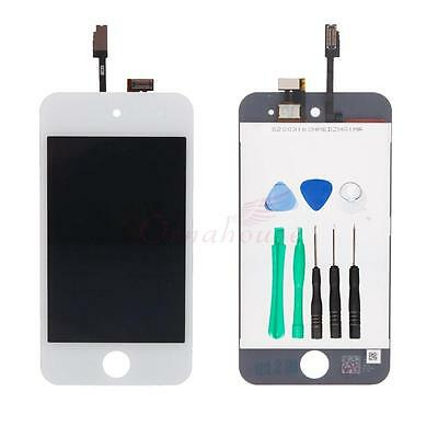 LCD Display Touch Digitizer Screen Replacement OEM for iPod Touch 4 4th White