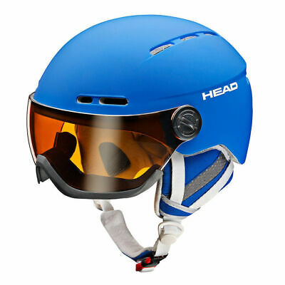 HEAD Skihelm VISIER Knight Herren oder Queen Damen, Black, Helm, Ski, Schi, NEU!