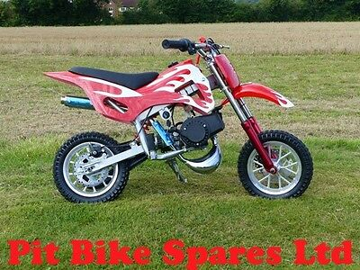 #Pre Order# New Mark 1 Mini Dirt Bike 49cc Pocket Bike. Minimoto. Red