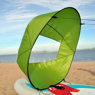 """Canoe Kayak Voile Accessoires Kit - 42 """"Compact Popup Downwind Vent Paddle"""