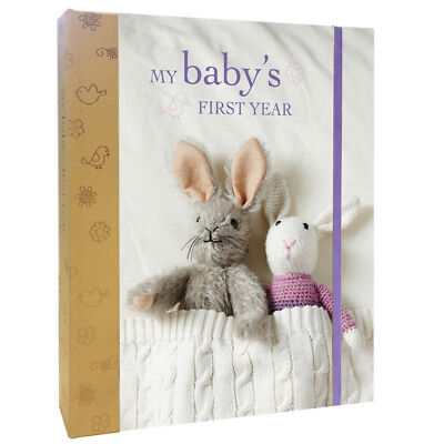 My Baby's First Year Journal Keepsake Toddler Child Record Book Gift