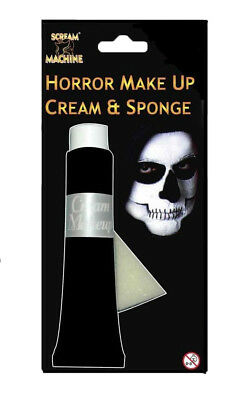 Halloween Coloured Face & Body Paint Hypoallergenic Make Up Fancy Dress Costume