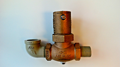 """Clemco outlet exhaust valve 1"""" # 01967"""