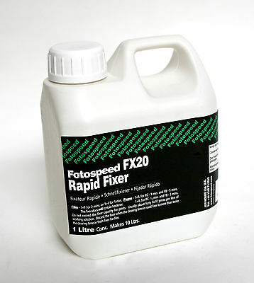 Fotospeed FX20 Fixer 1L for Black and White Processing