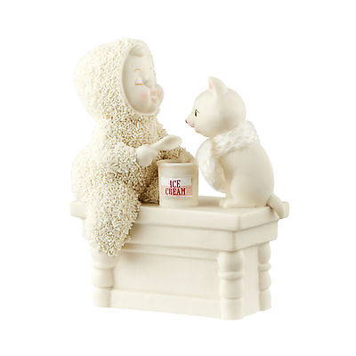 Department 56 Christmas Snowbabies A Scoop To Soothe The Soul Figurine 4051915