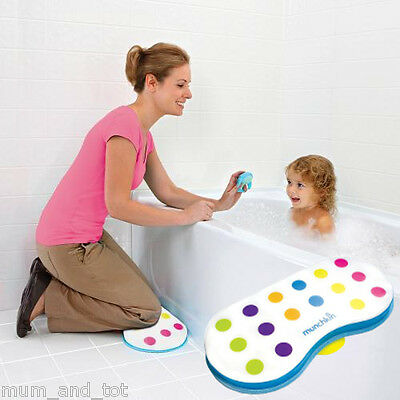 Munchkin Bath Kneeler Cushion Knee Support Pads Baby Bathing Washing Cleaning