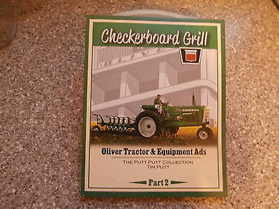 CHECKERBOARD GRILL Book-Oliver Tractor & Equipment Ads-Part 2-Tim Putt-New-2016