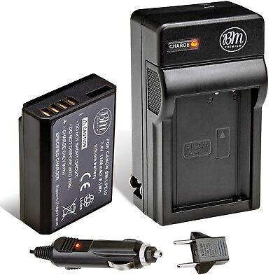 BM Premium LP-E10 Battery & Charger for Canon EOS Rebel T3, T5, T6 T7, Camera