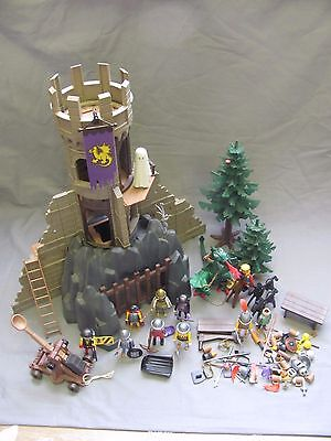 Playmobil Knights 3665 Barons Castle Dragon Medieval Unicorn Figures Accessories