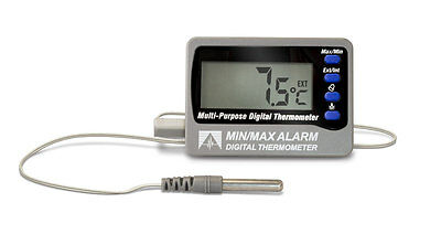 DeltaTrak 12207 Min/Max Alarm Digital Thermometer