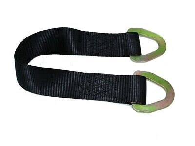 Just Straps Car Transport Axle Strap c/w Steel D Rings