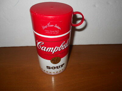 Vintage Campbell's Soup Kids Thermos 11.5 oz Vintage-Clean-Great Condition